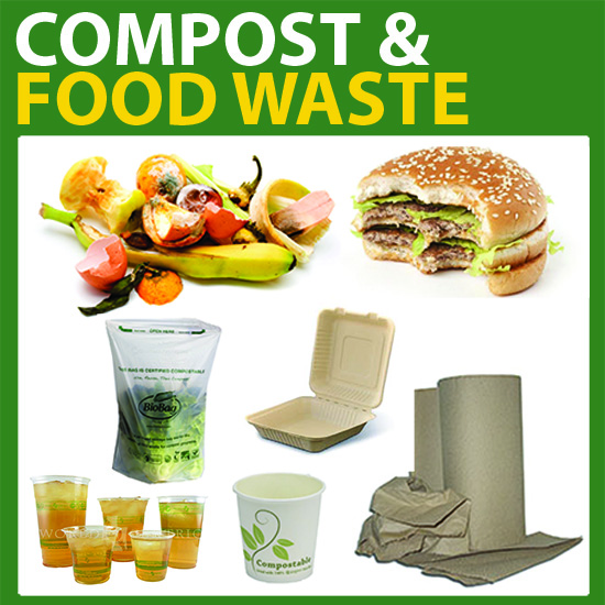 compostable items